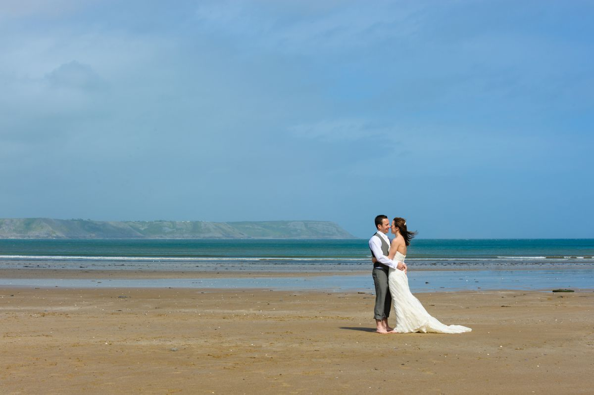 Oxwich Bay Wedding – Emma & Paul