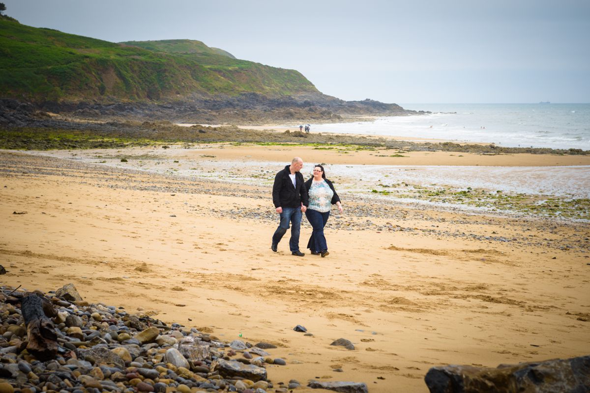 Langland Bay Engagement Shoot – Nia & Jason