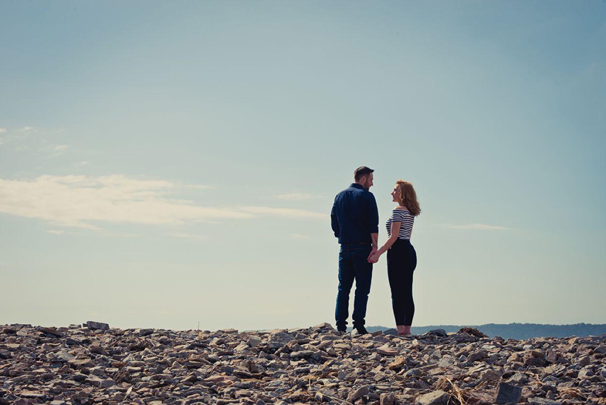 Engagement Shoot at Three Cliffs – Kerin & Rhys