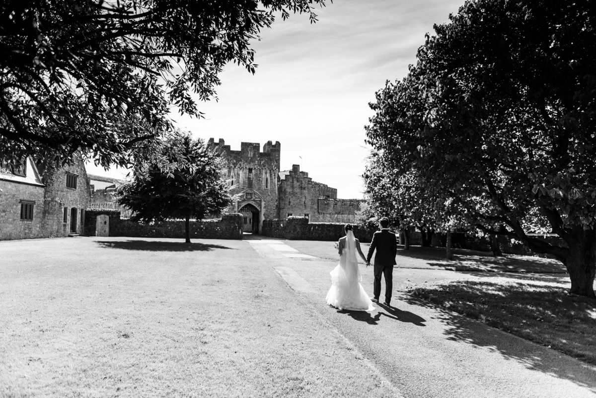St Donat's Castle Wedding – Sarah & Leigh