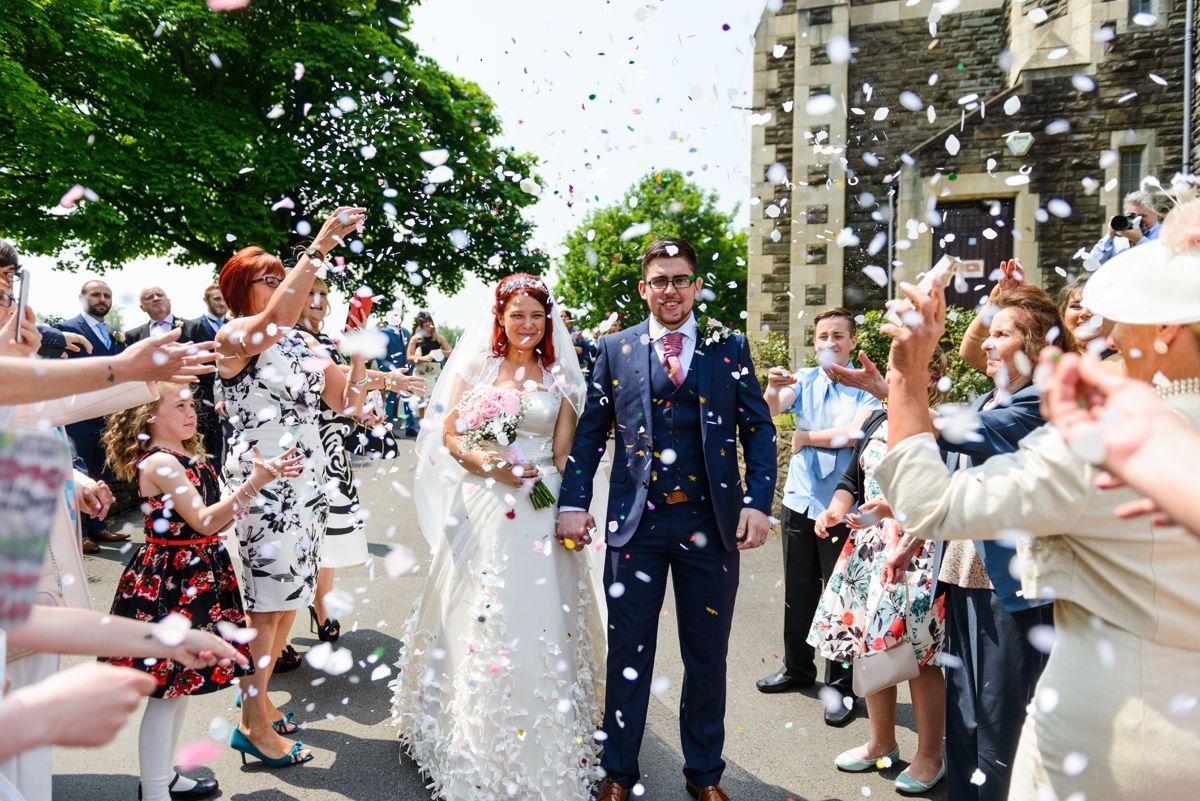 Glyn Clydach Coach House Wedding Photography – Annie & Jamie