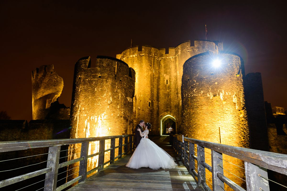 Caerphilly Castle Wedding Photography – Kayleigh & Dean