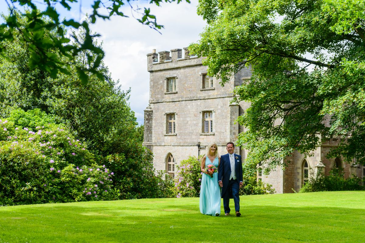 Clearwell Castle Wedding Photography – Sue & John