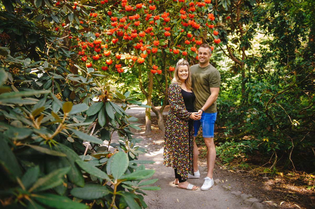Clyne Gardens Engagement Photos – Ceri & Alex