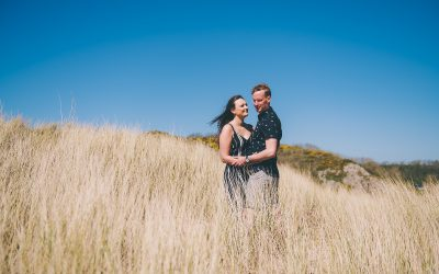 Bosherston Pre Wedding Photography – Abigail & Samuel