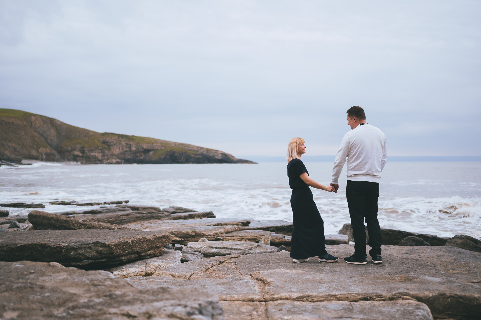 Dunraven Bay Engagement Photos