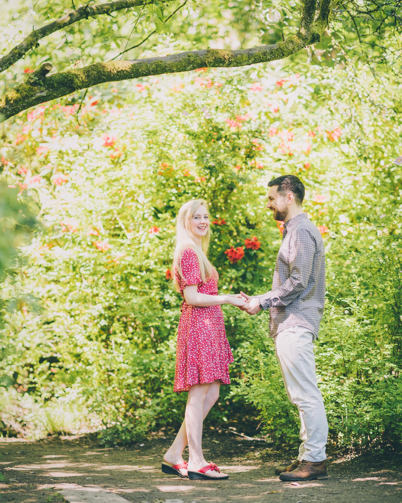 Clyne Gardens Engagement Photos