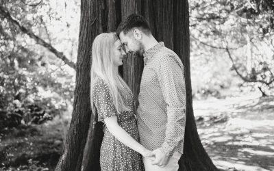 Clyne Gardens Pre Wedding Photography – Georgia & Daniel