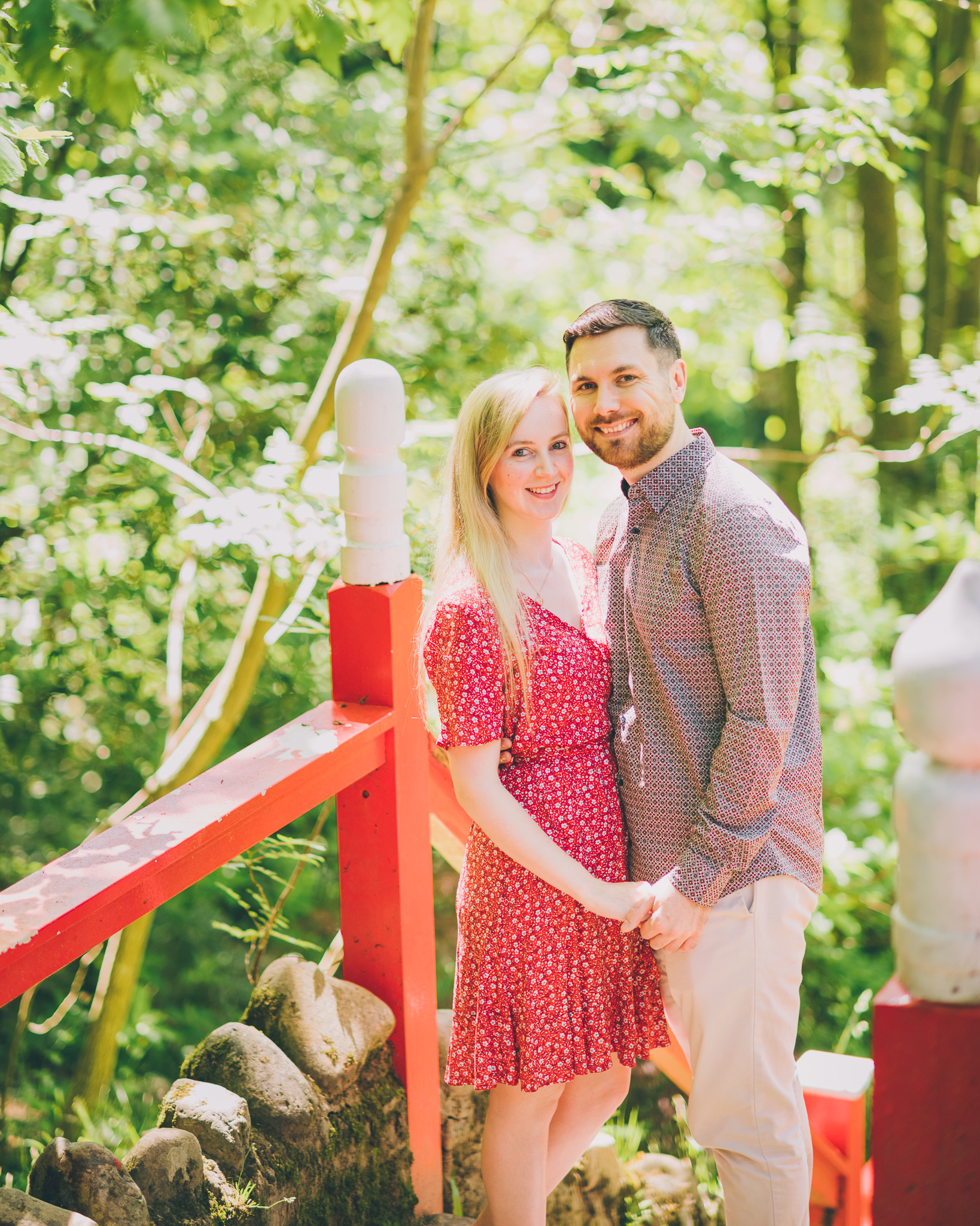Pre Wedding Photos at Clyne Gardens