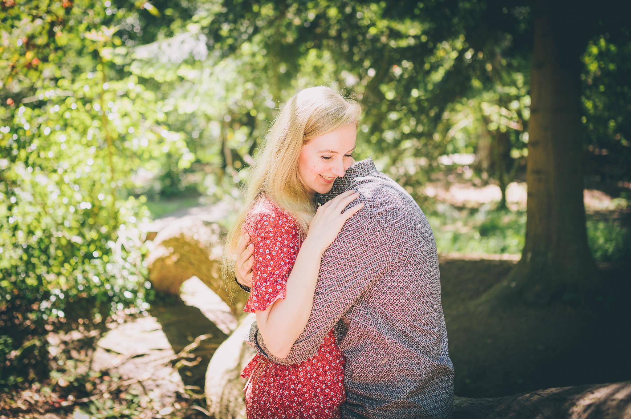 Engagement Photos at Clyne Gardens