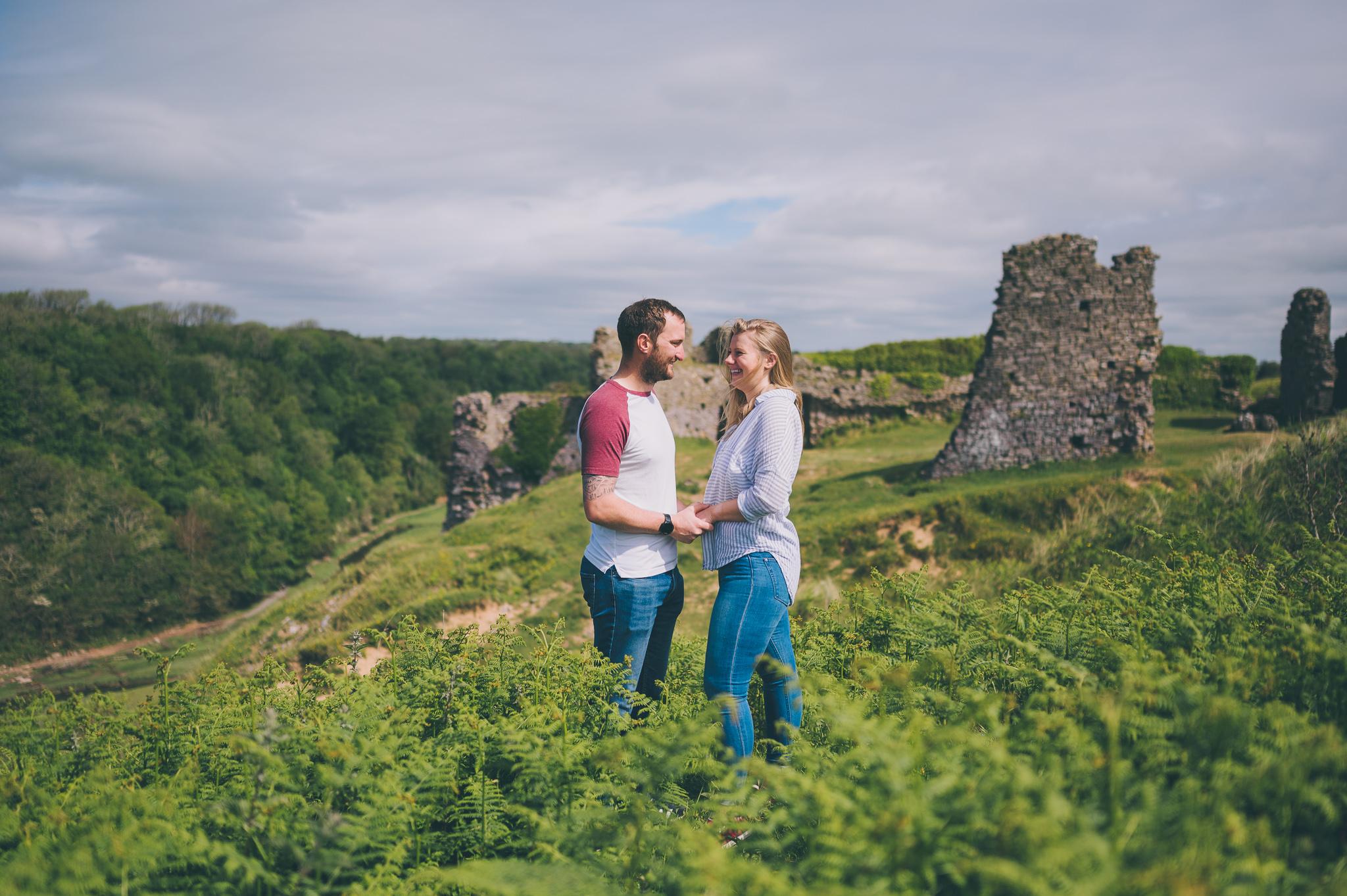 Three Cliffs Engagement Photos