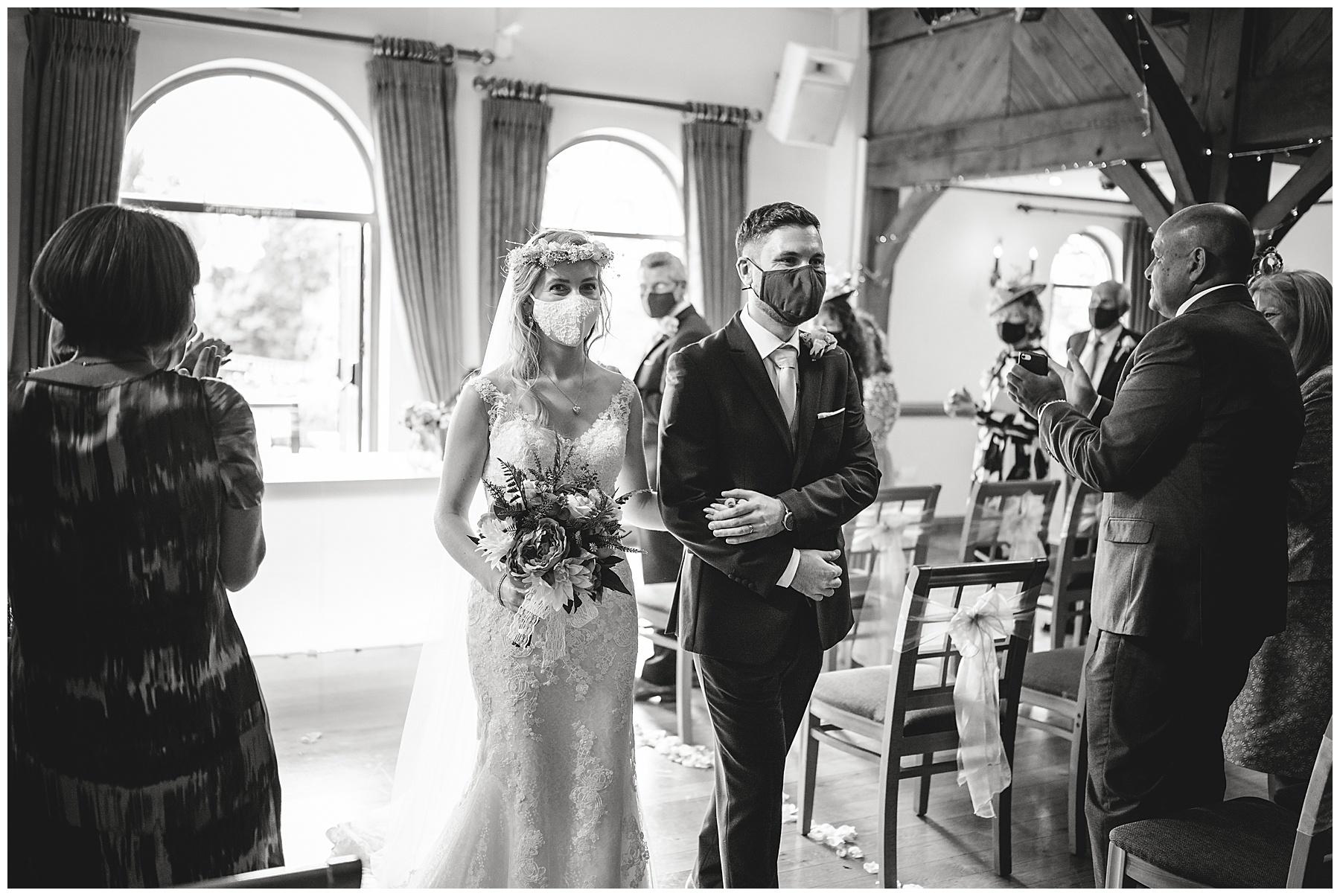 Wedding Ceremony at King Arthur
