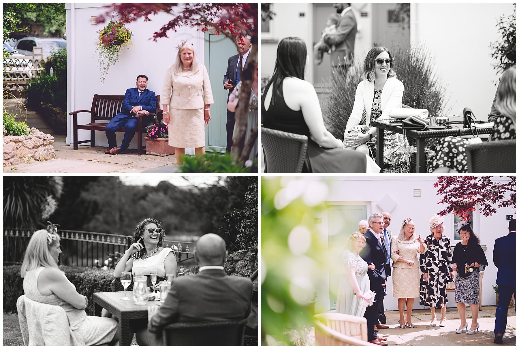 Wedding Guests at King Arthur