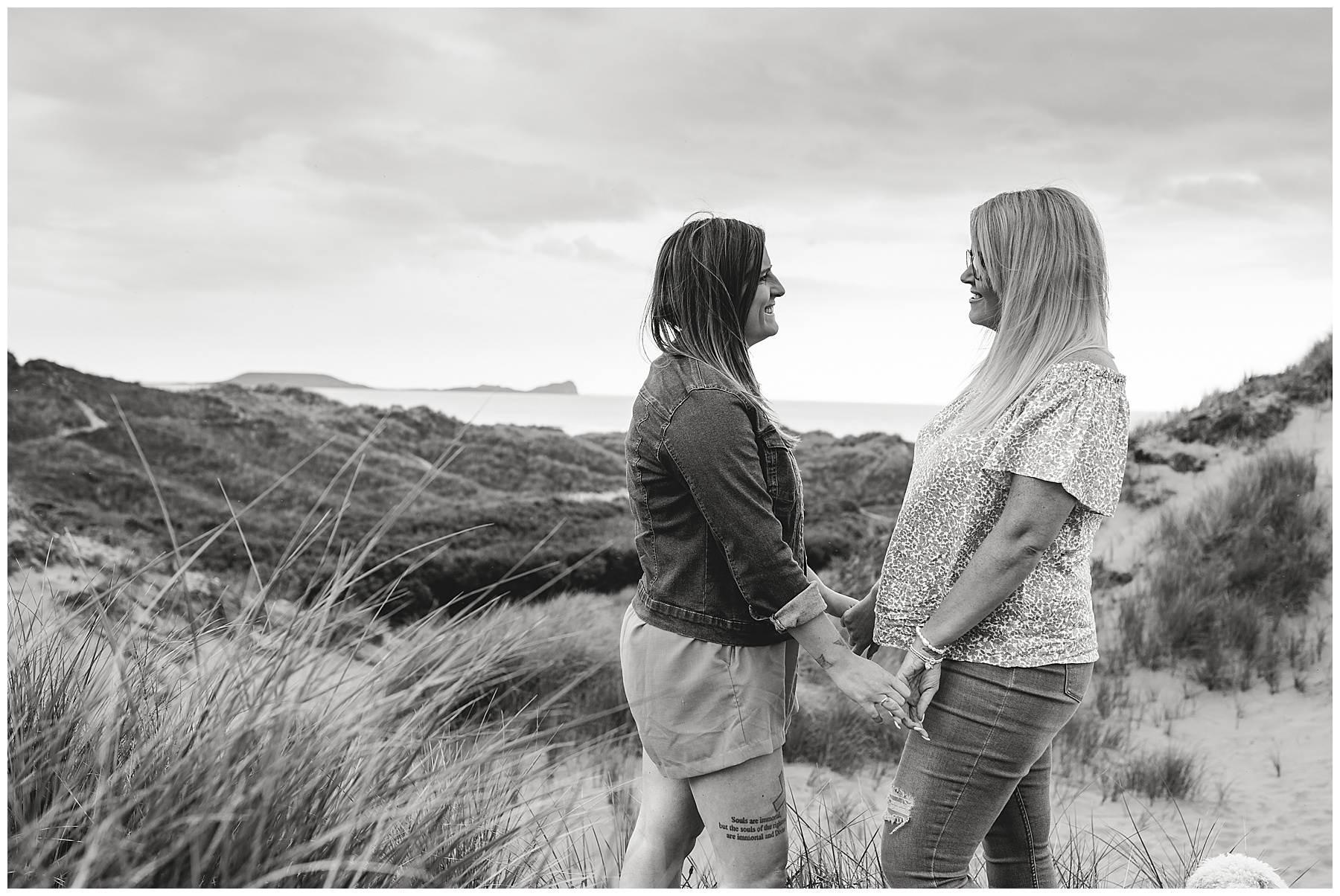 Pre Wedding Photography at Llangennith Beach