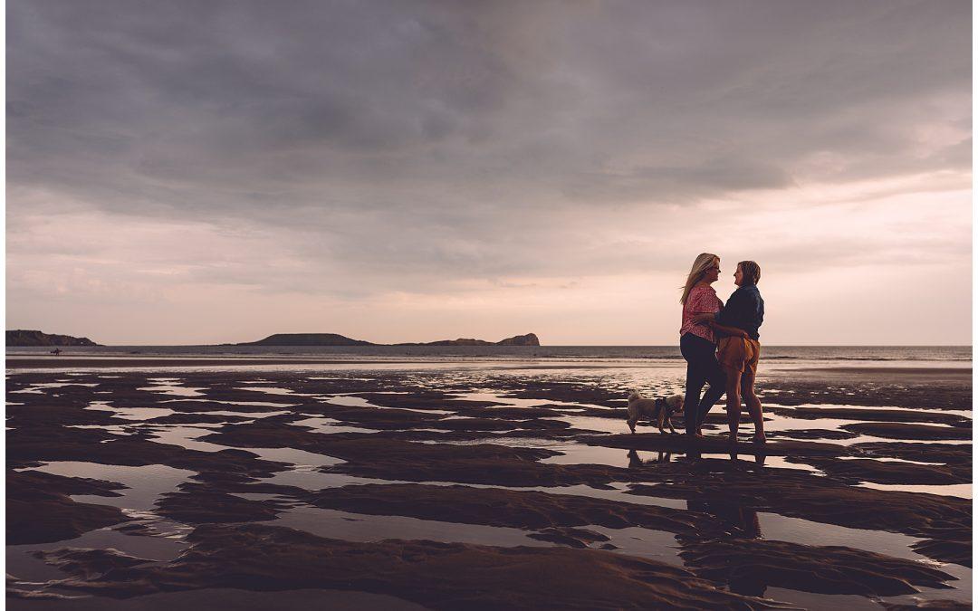 Llangennith Pre Wedding Photos – Hollie & Michelle