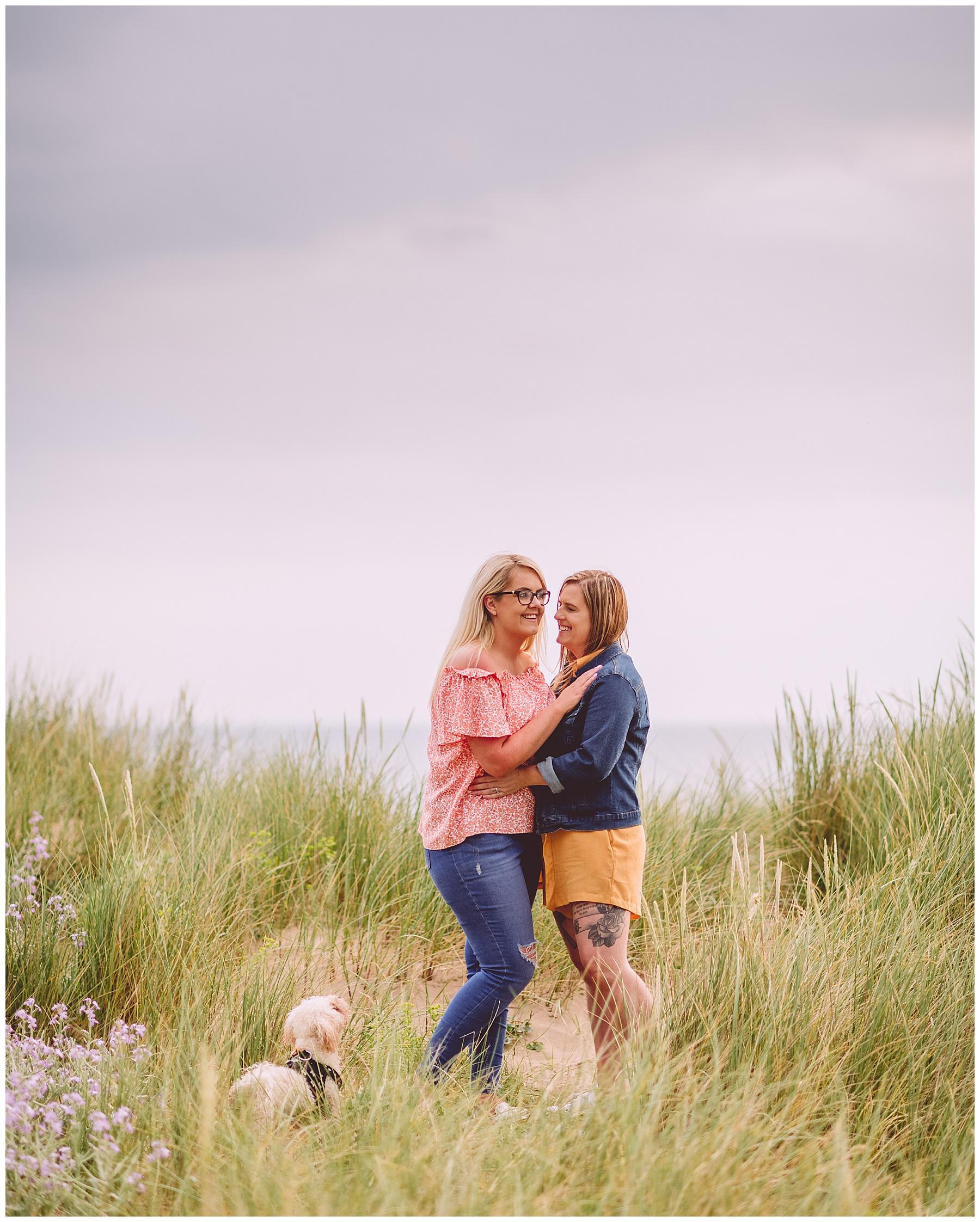Llangennith Beach Pre Wedding Photography