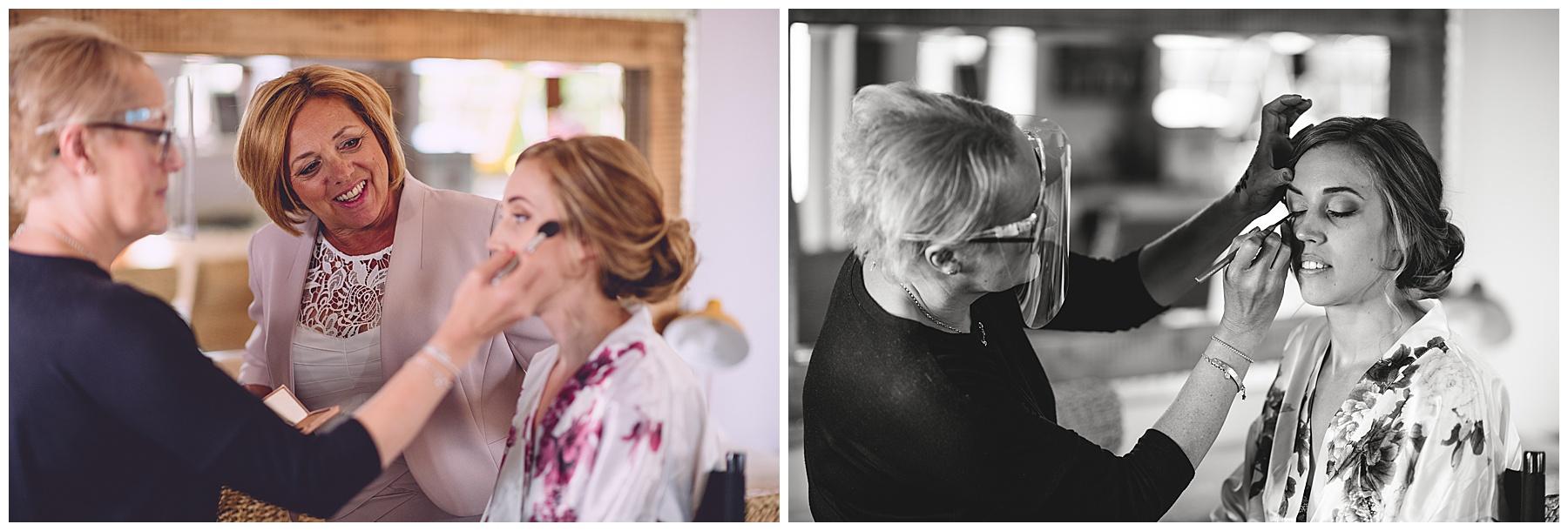Bridal Makeup at Oldwalls