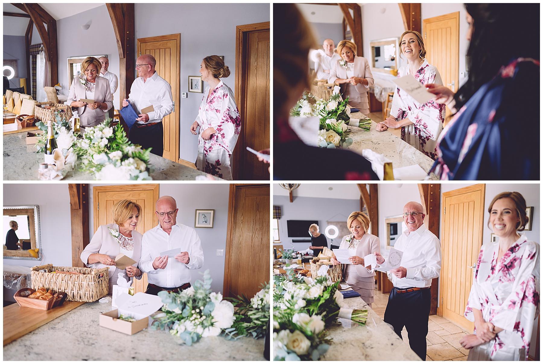 Wedding Preparations at Oldwalls