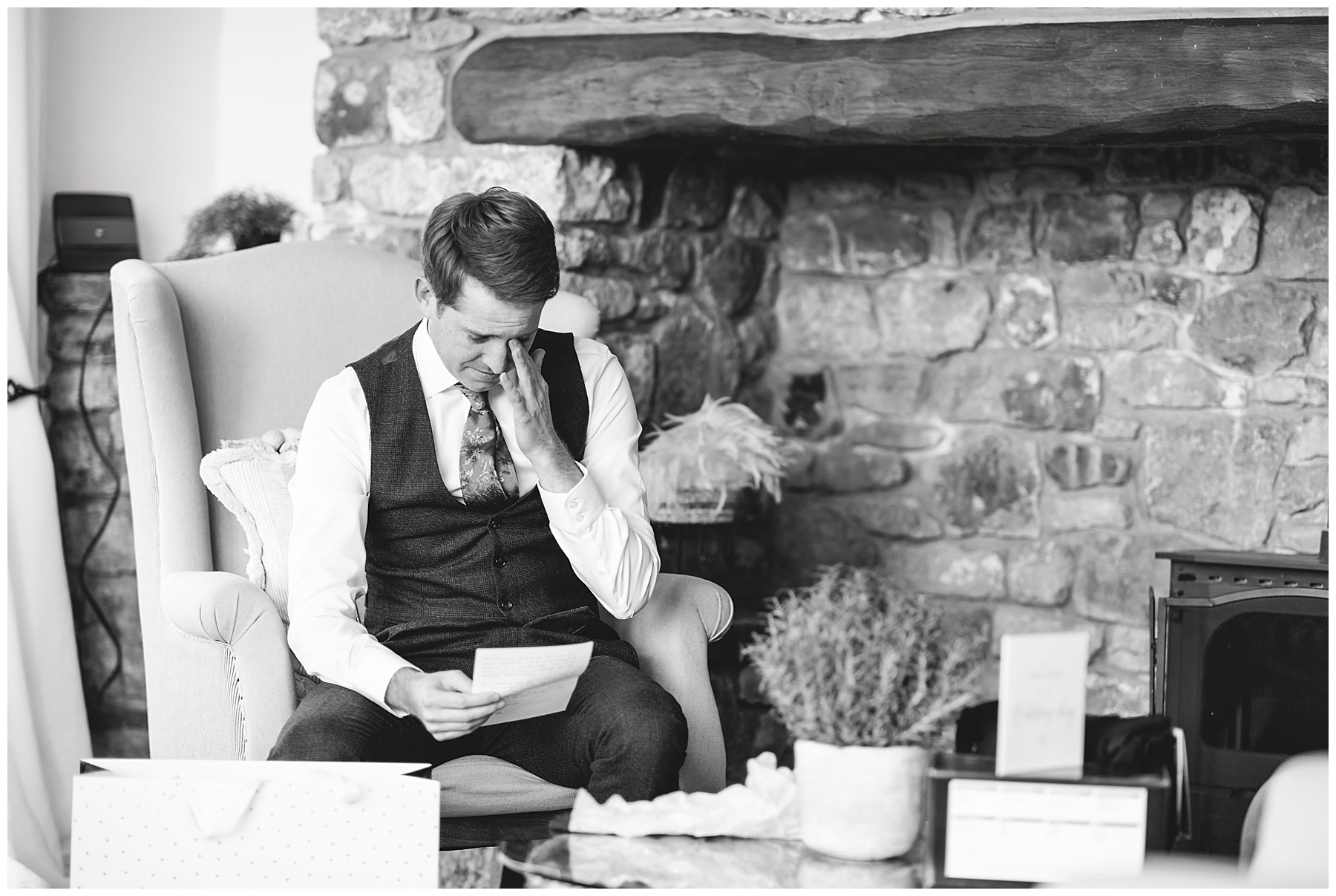 Wedding Preparations at Cerrig Glan