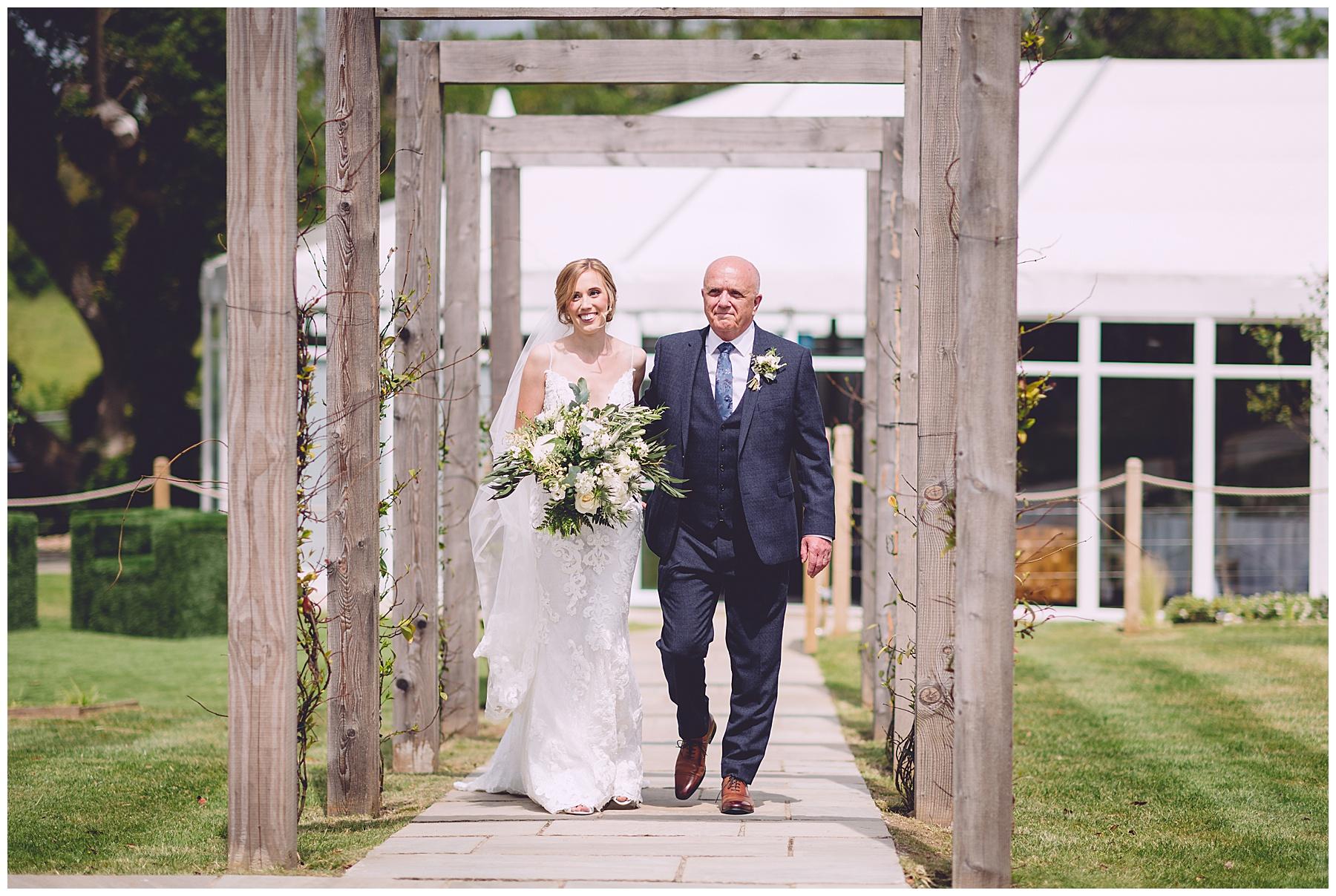 Outdoor Wedding at Oldwalls