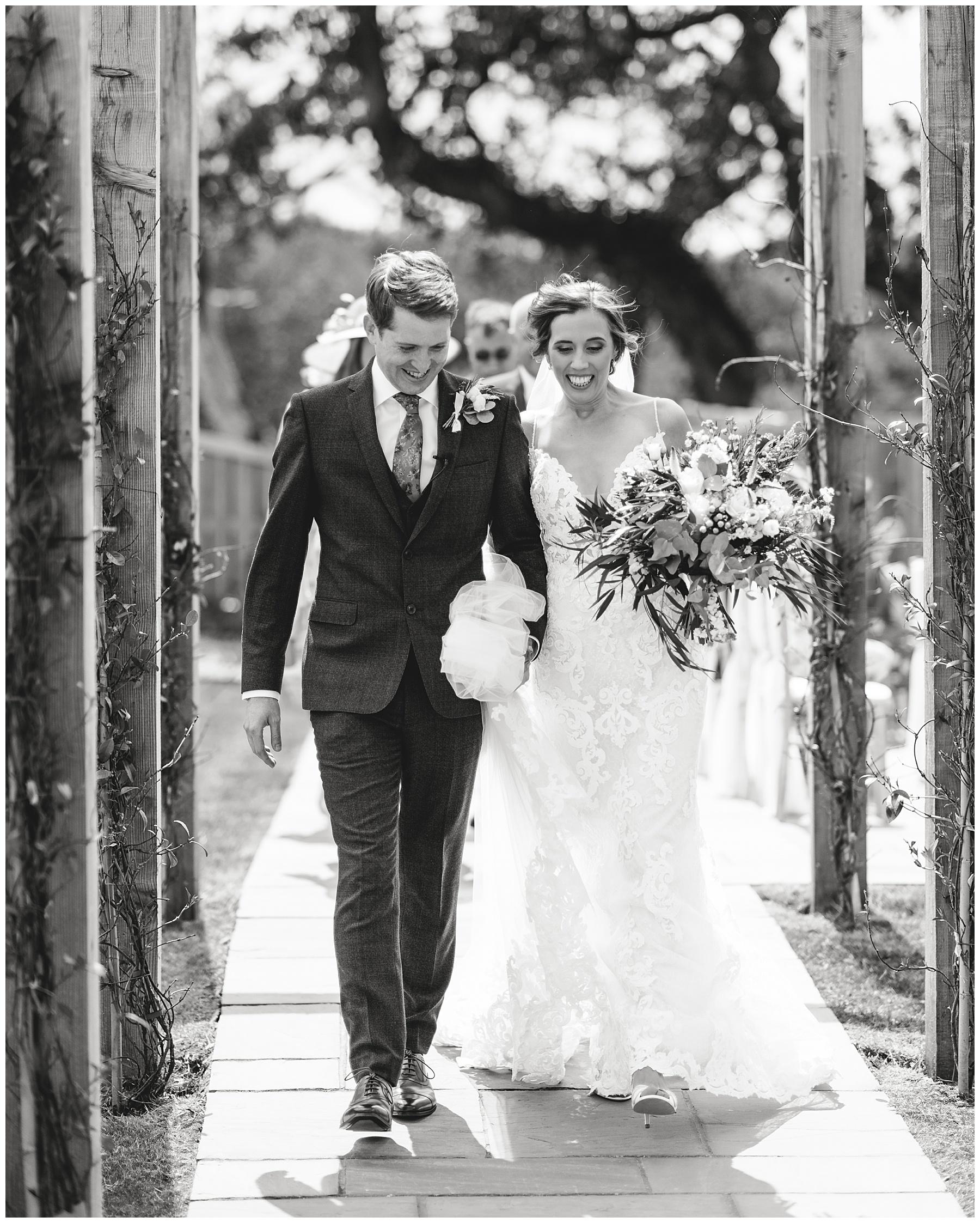 Outdoor Wedding Ceremony at Oldwalls