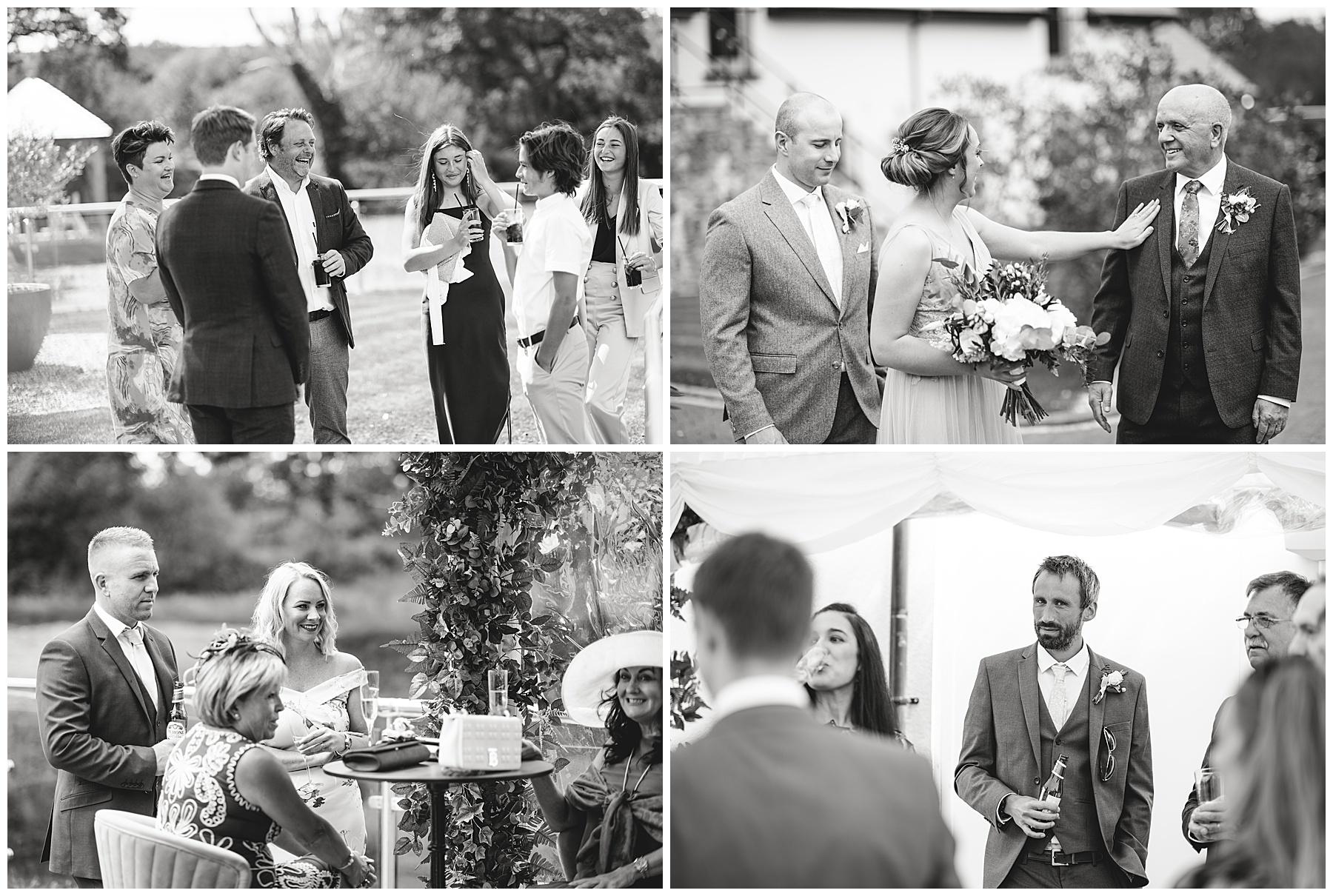 Wedding Guests at Oldwalls