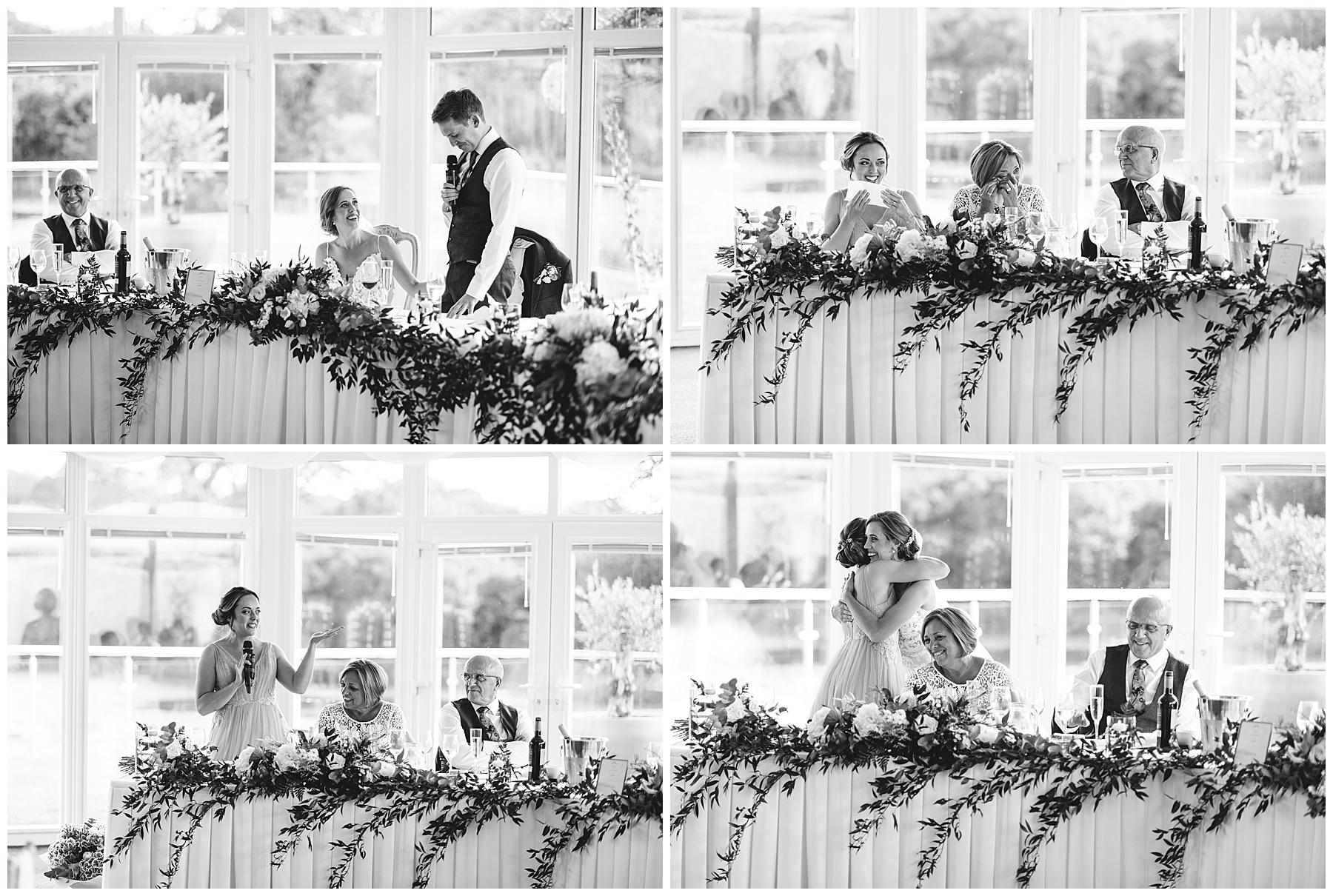 Speeches at Oldwalls Wedding