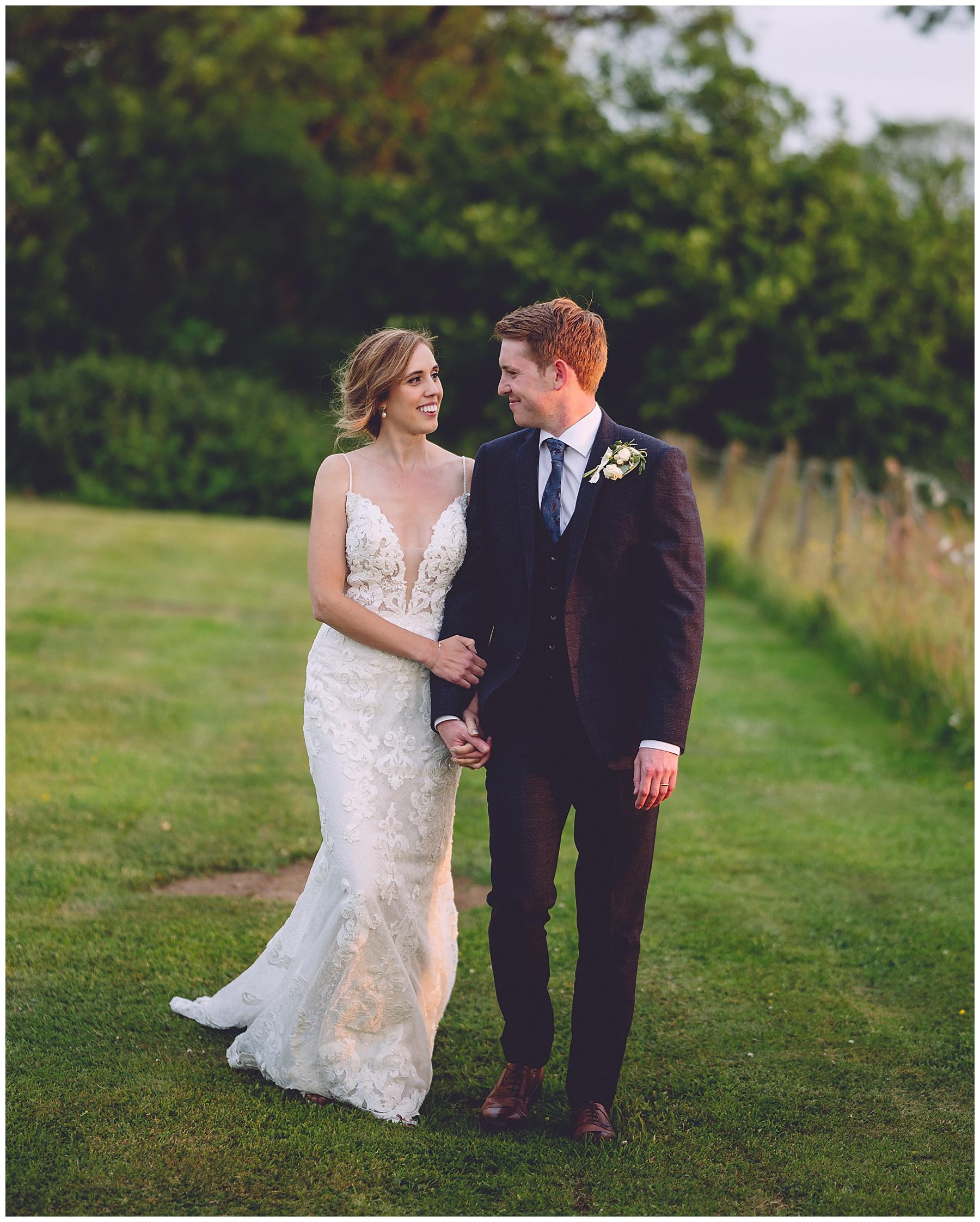 Bride & Groom at Oldwalls Wedding