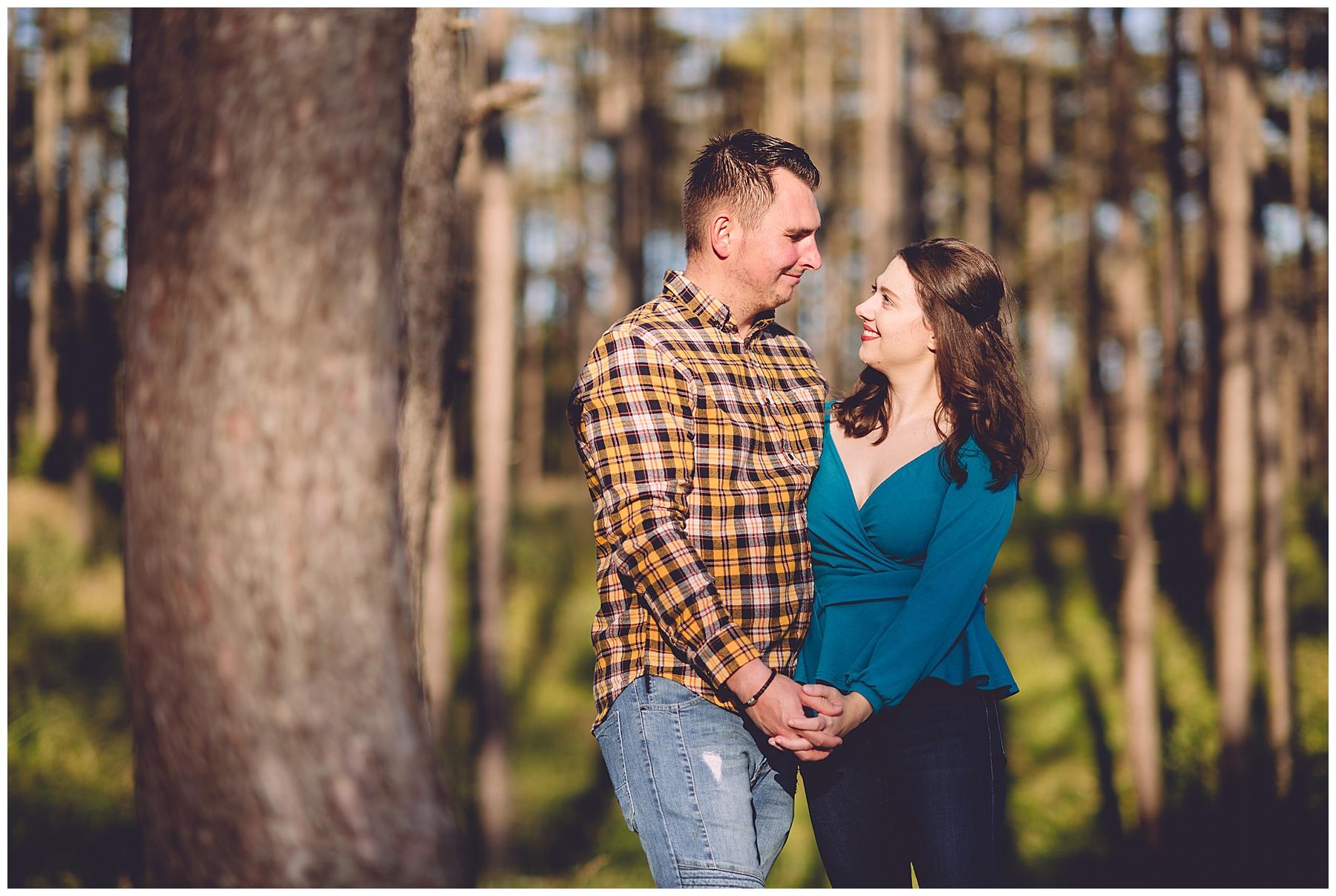 Pembrey Country Park Engagement Photos