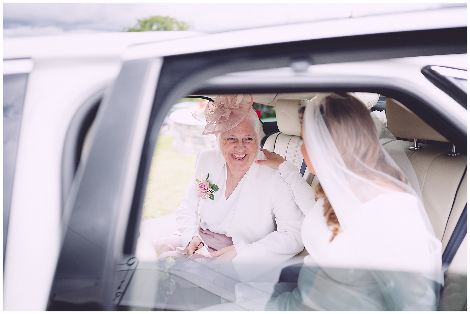 Bride at Ocean View Wedding