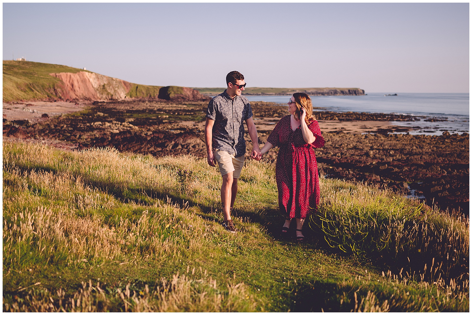 Pre Wedding Photos at Freshwater West