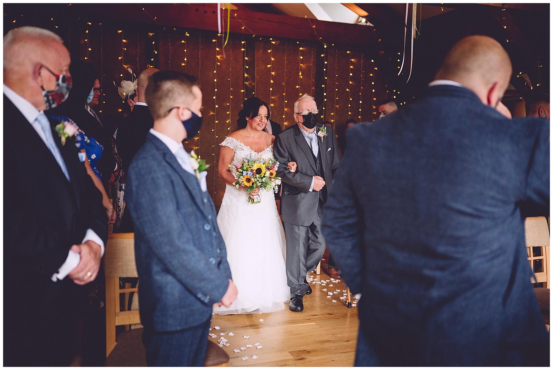 Civil Ceremony at King Arthur Wedding