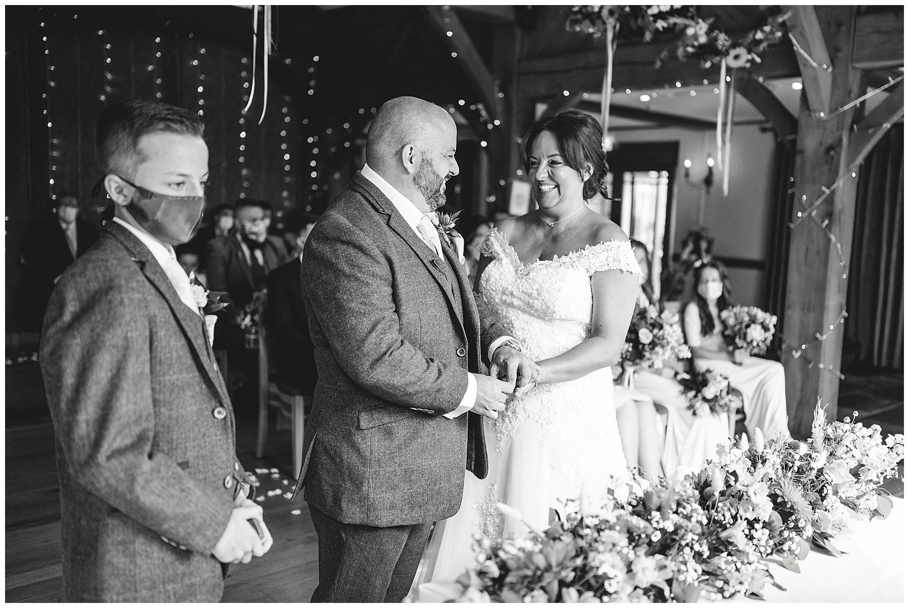 Civil Ceremony at King Arthur Hotel