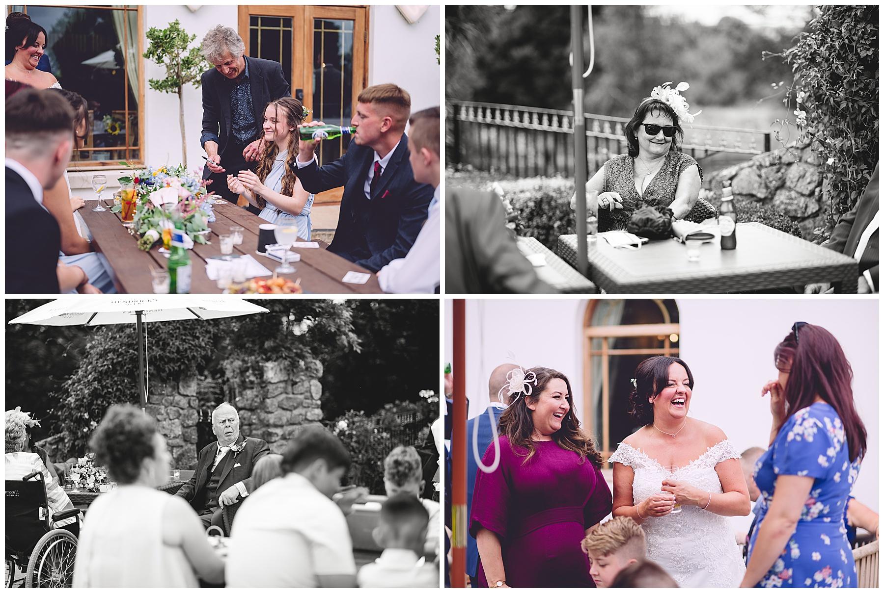 Wedding Guests at King Arthur Hotel
