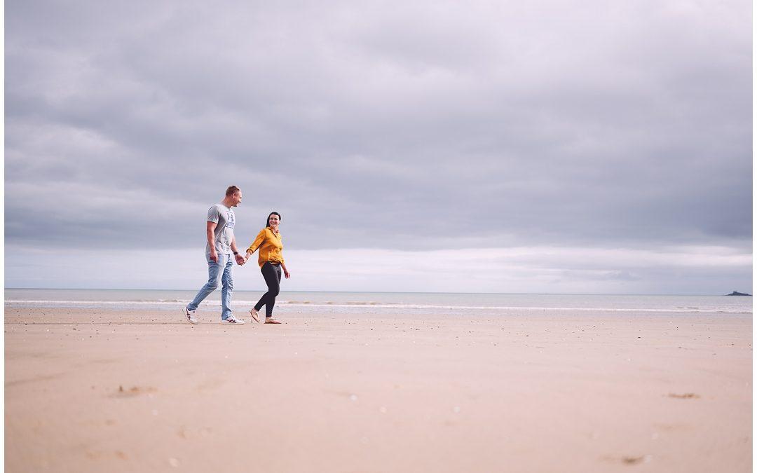 Swansea Bay Pre Wedding Photos – Hannah & Jordan