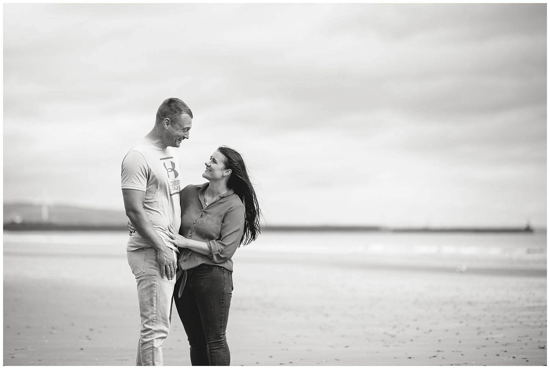 Swansea Bay Engagement Photos