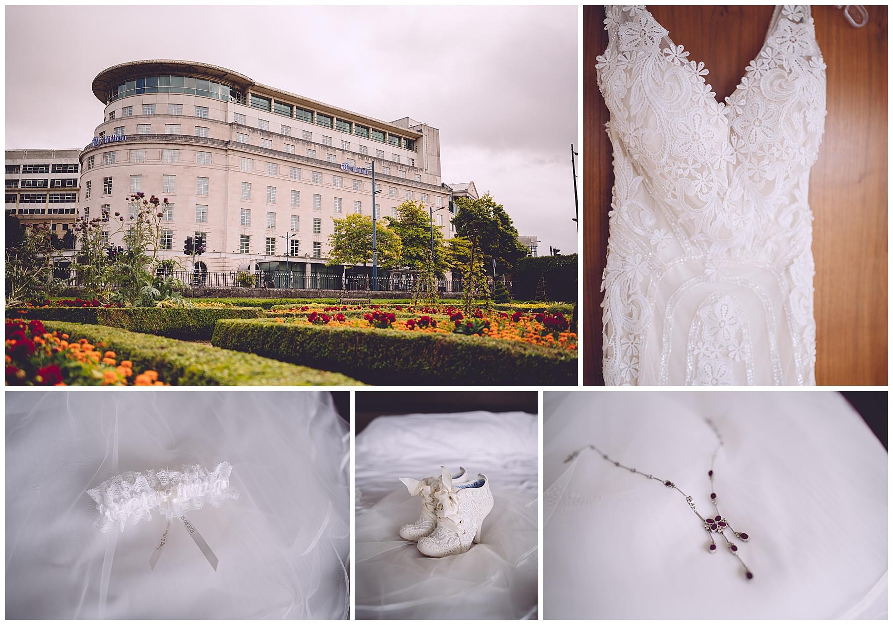 Hilton Hotel Wedding Preparations