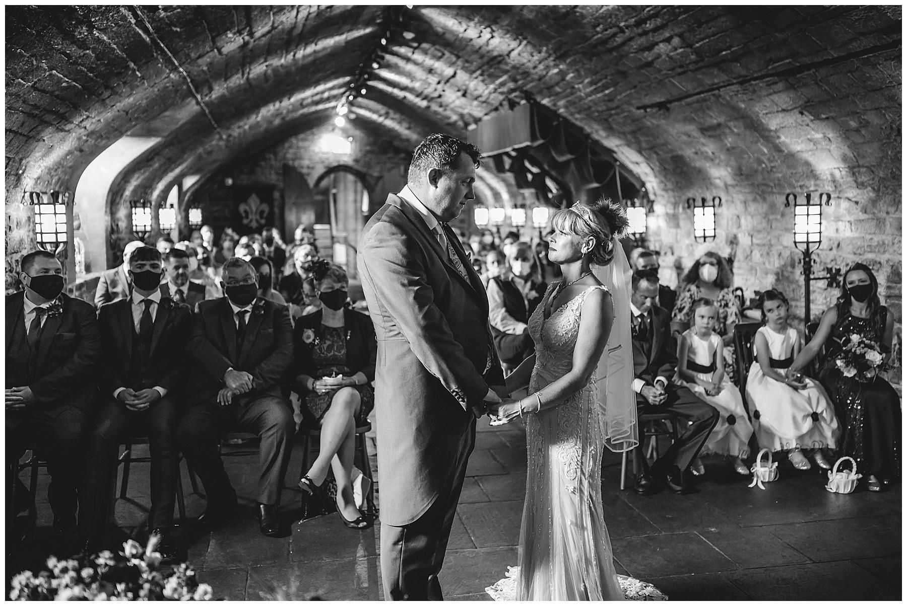 Cardiff Castle Undercroft Wedding