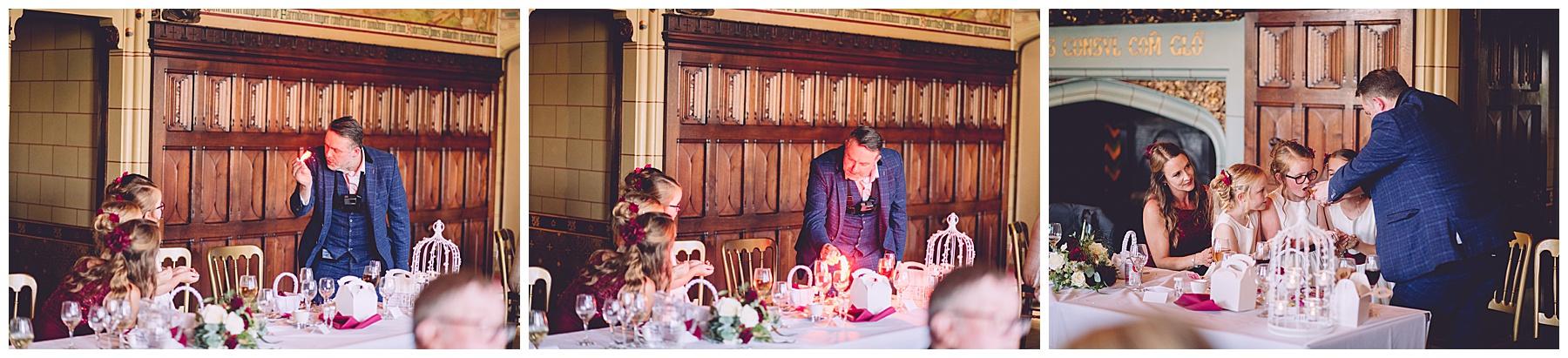 Cardiff Castle Wedding Function