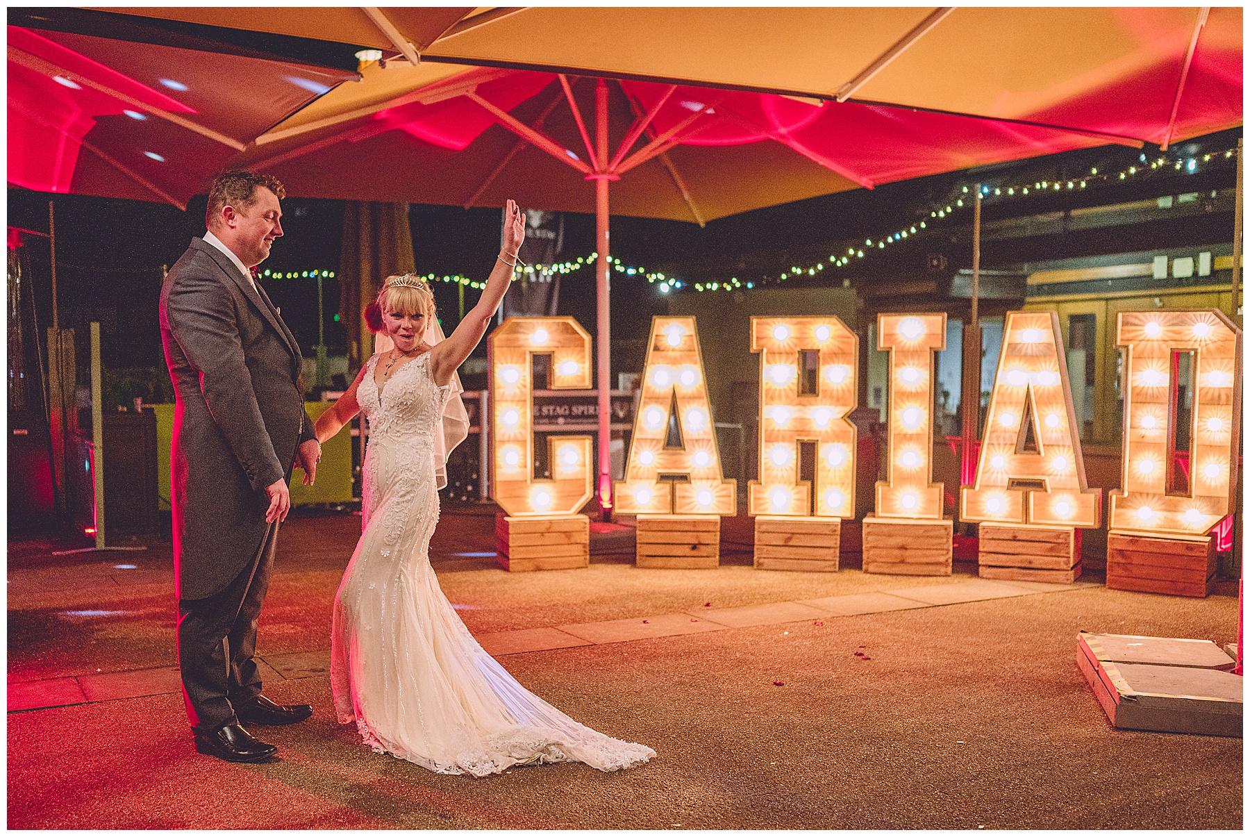Cardiff Castle Wedding Reception