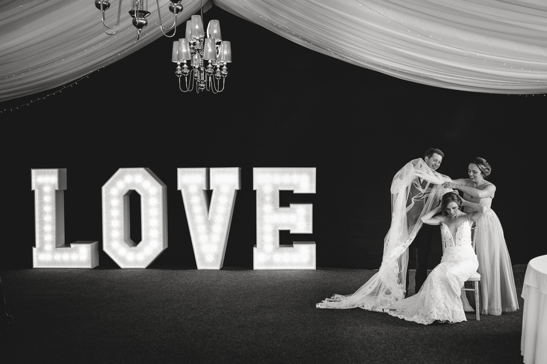 Wedding photography at Weobley Castle by Gareth Jones Photography