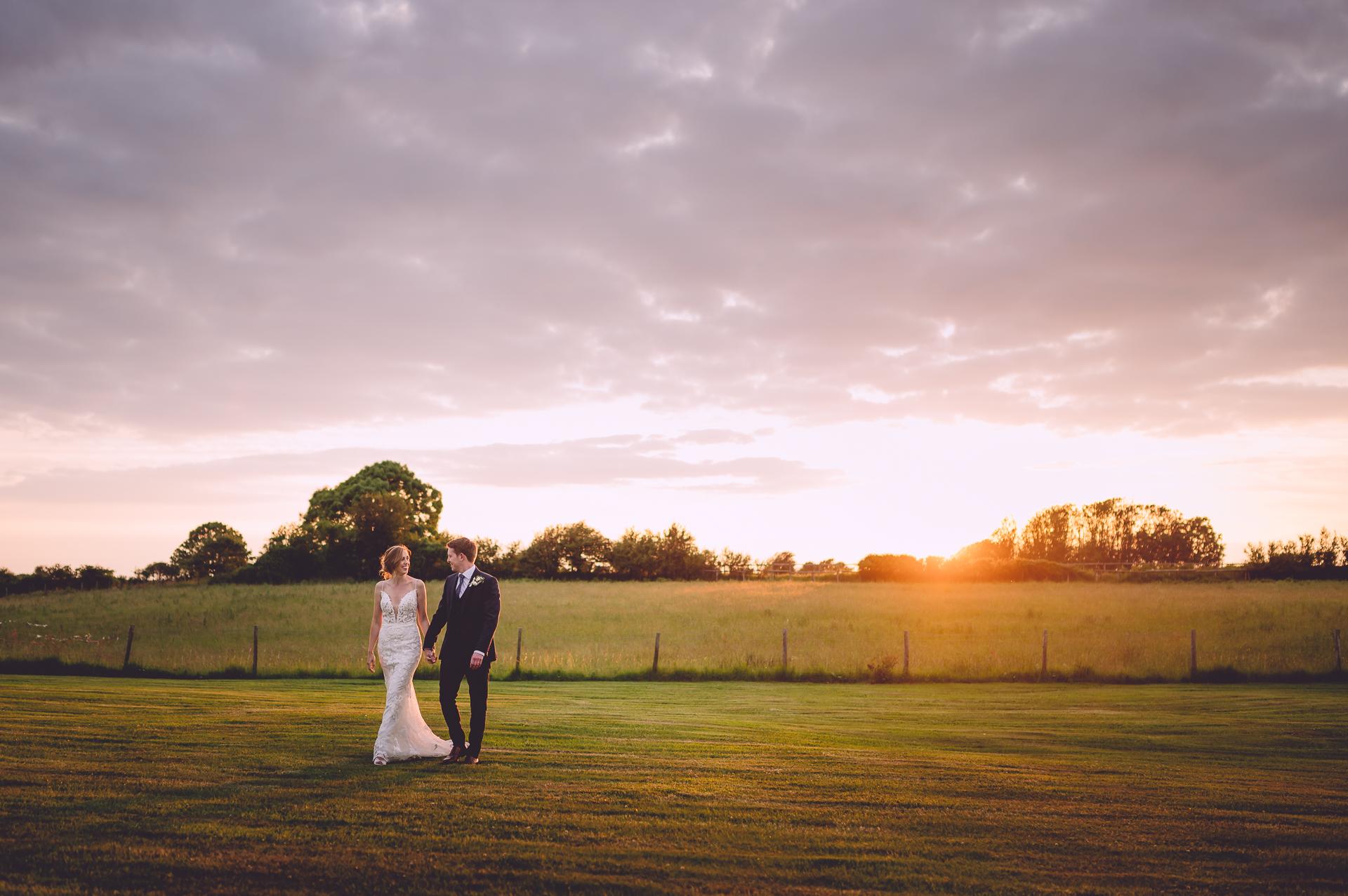Oldwalls Wedding Sunset